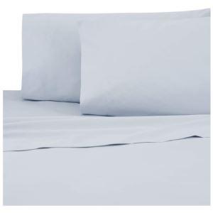 Sateen Standard Pillowcase Pair - (Powder Blue)