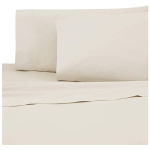 Sateen King Pillowcase Pair - (Ivory)