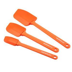 3-Piece Spatula Set - (Orange)