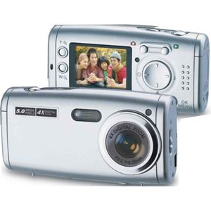 5Mp Compact Digital Camera with Flash