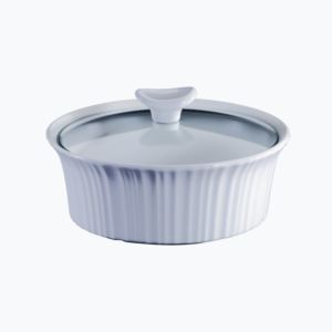 French White III 1.5-Qt Round Casserole