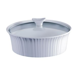 French White III 2.5-Qt Round Casserole