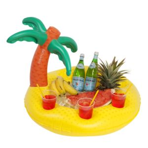 Inflatable Pool Bar Tropical Island
