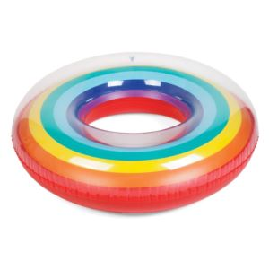 Inflatable Pool Ring Rainbow