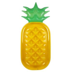 Luxe Lie-On Inflatable Pool Float Pineapple