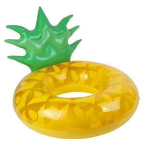 Luxe Inflatable Pool Ring Pineapple