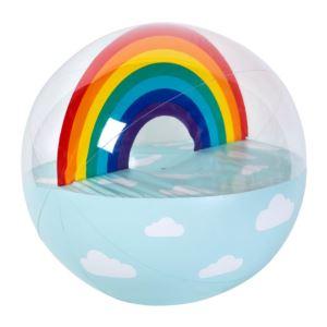 Luxe XL Inflatable Beach Ball Rainbow