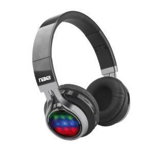 Vibe Bluetooth Foldable Headphones w/ Microphone and FM Radio