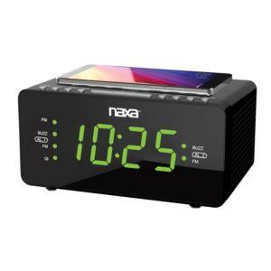 Dual Alarm Clock w/ USB Connection