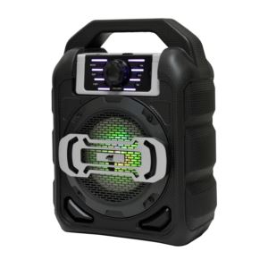 "4"" Bluetooth Portable Party Speaker w/ LED Lights"