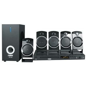 5.1 Channel Home Theater DVD & Karaoke System
