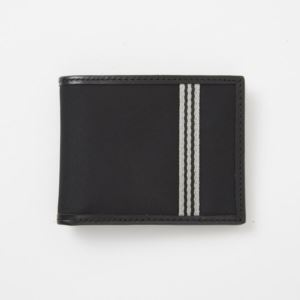 Billfold Wallet - Brushed Microfiber - Charcoal Black