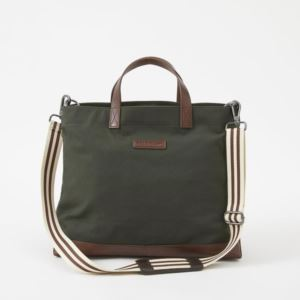 Oliver Metro Tote - Canvas - Racing Green