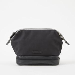 Travel Kit - Brushed Microfiber - Charcoal Black