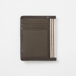 Card Case with Bottle Opener - Br. Microfiber-Tobacco Brown