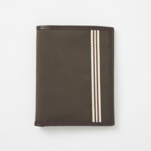 Passport Wallet - Brushed Microfiber - Tobacco Brown