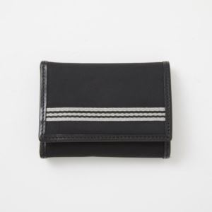 Trifold Wallet - Brushed Microfiber - Black
