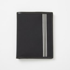 Passport Wallet - Brushed Microfiber - Charcoal Black