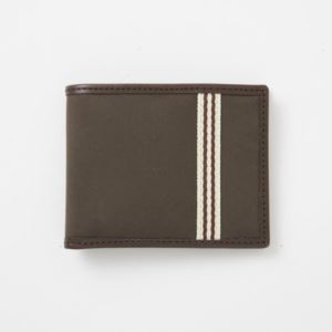 Billfold Wallet - Brushed Microfiber - Tobacco Brown