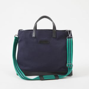 Oliver Metro Tote - Canvas - Midnight Navy