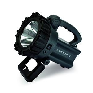 10-watt Rechargeable LED Hand Held Spotlight