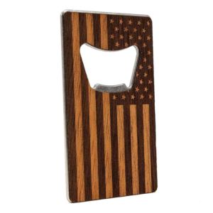 American Edition Credit Card Bottle Opener