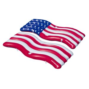 American Flag Connector Mat