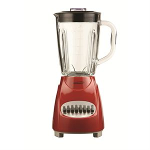 12 Speed Blender with Glass Jar (Red)