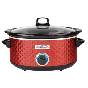 7QT Slow Cooker (Red)