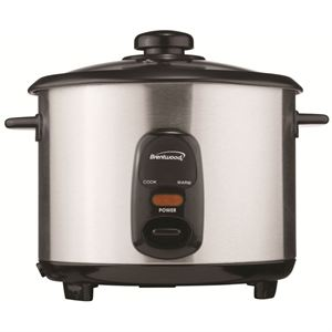 20 Cup Rice Cooker (Stainless Steel)