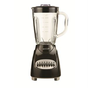 12 Speed Blender with Glass Jar (Black)