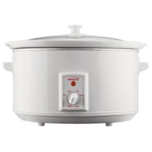 8 Qt. Slow Cooker - White