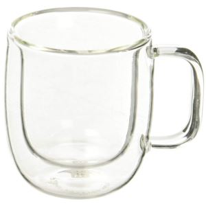 Espresso Glass Mug, 2.7 oz., 80ml   2-pc**
