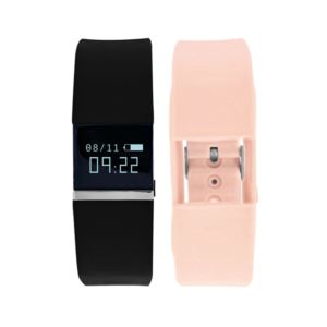 Ifitness Tracker Watch - (Black and Blush)