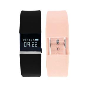 Ifitness Tracker Watch - (Black and Blush)