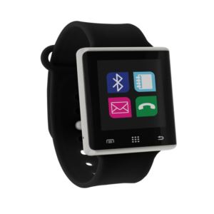 Air Smartwatch Black and Silver - (Unisex)
