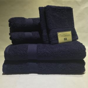 Deluxe Towel Set Navy