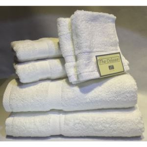 Deluxe Towel Set - (White)