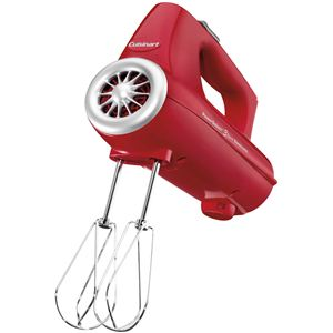 PowerSelect 3-Speed Hand Mixer - Red