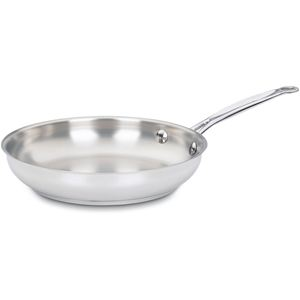 Chef's Classic Stainless 10 In. Open Skillet