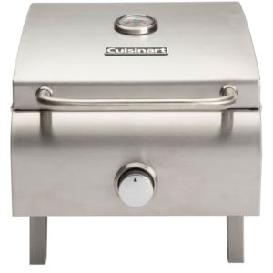 Professional Portable Gas Grill in Stainless Steel