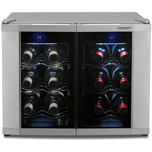 12-Bottle Dual Zone Wine Cellar
