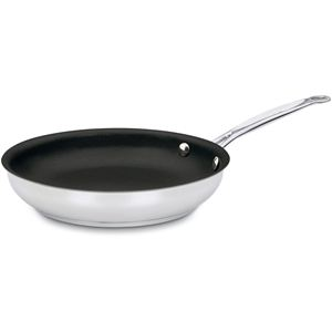 Chef's Classic Stainless Non-Stick 10 In. Open Skillet