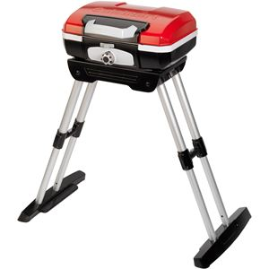 Petit Gourmet Portable Outdoor LP Gas Grill with VersaStand