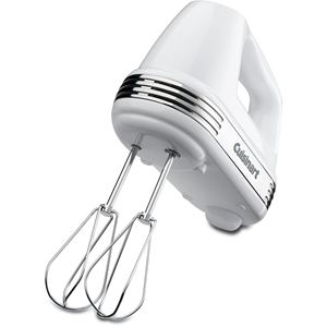 Power Advantage 5-Speed Hand Mixer in White
