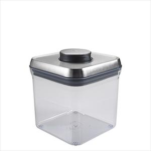 SteeL POP Container - Big Square (2.4 Qt / 2.3 L)