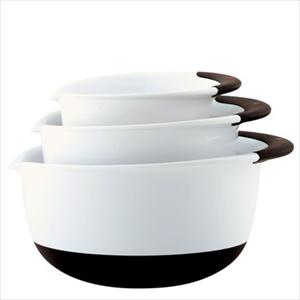 Good Grips 3-Pc Mixing Bowl Set - Plastic (asst)