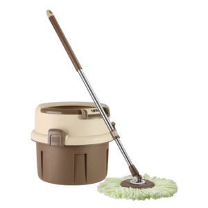 Stainless Steel Deluxe Mono-Tub Spin Mop