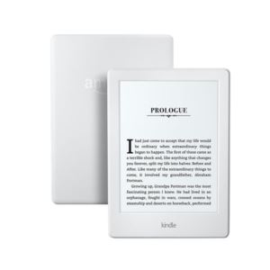 6 - Inch Kindle eReader with Glare Free Touchscreen and WiFi - (White)