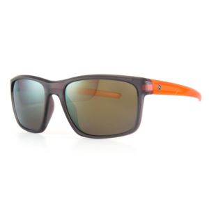 Plasma Sunglasses - Matte Crystal Grey/Matte Crystal Orange/Brown